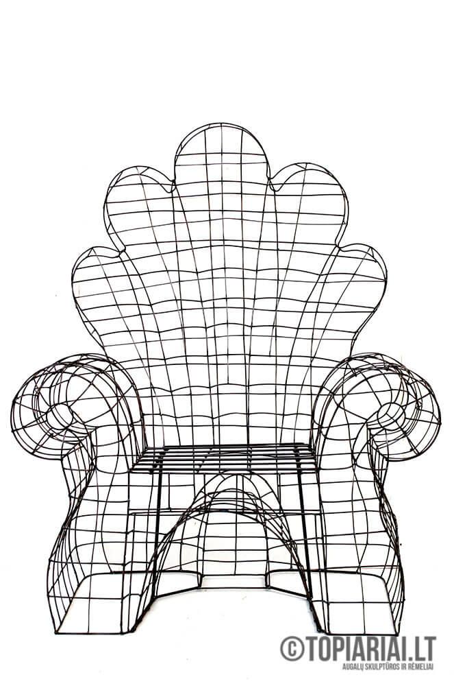 sodo fotelis kreslas topiary remas